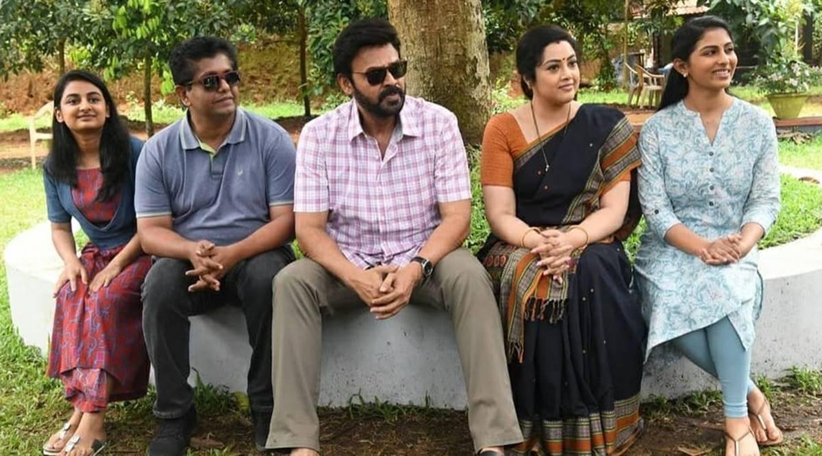 Venkatesh Daggubati wraps shoot for Telugu version of Drishyam 2   Entertainment News,The Indian Express